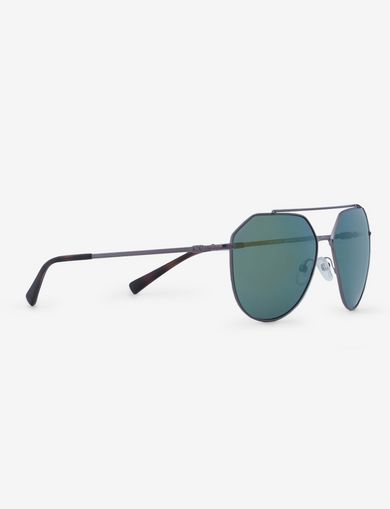 아르마니 익스체인지 Armani Exchange GREEN MIRROR WIRE AVIATOR,Grey