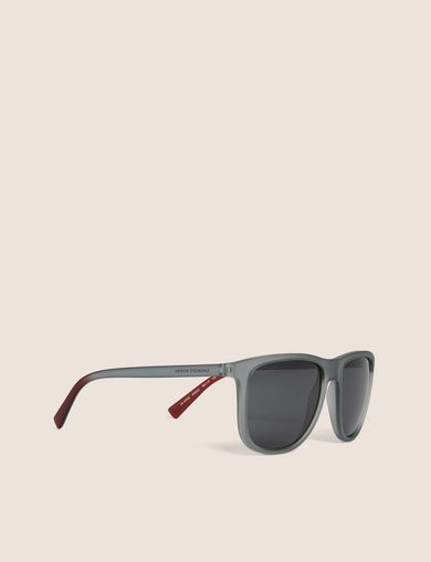 아르마니 익스체인지 Armani Exchange OMBRE-EFFECT GREY CLASSIC SUNGLASSES,Grey