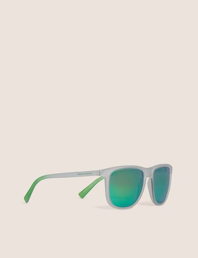 아르마니 익스체인지 Armani Exchange OCEANSIDE MIRROR CLASSIC SUNGLASSES,Green