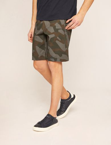 아르마니 익스체인지 반바지 Armani Exchange GEO CAMO PRINT SHORT,Green