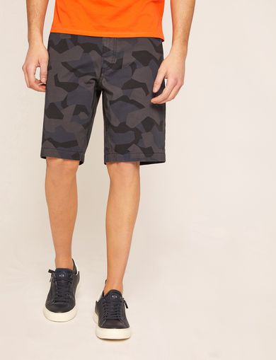 아르마니 익스체인지 반바지 Armani Exchange GEO CAMO PRINT SHORT,Dark Grey