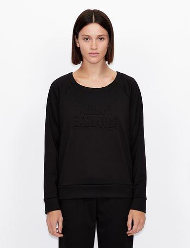 아르마니 익스체인지 스웻셔츠 Armani Exchange Sweatshirt,Black