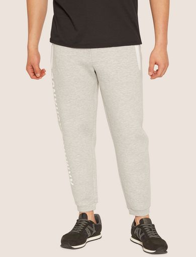 아르마니 익스체인지 Armani Exchange LOGO PRINT BONDED SWEATPANT,Grey