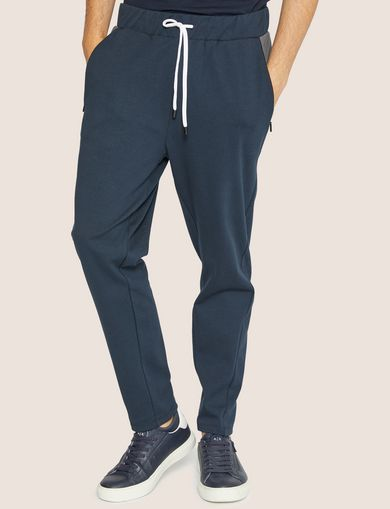 아르마니 익스체인지 Armani Exchange COLORBLOCKED SWEATPANT,Navy Blue