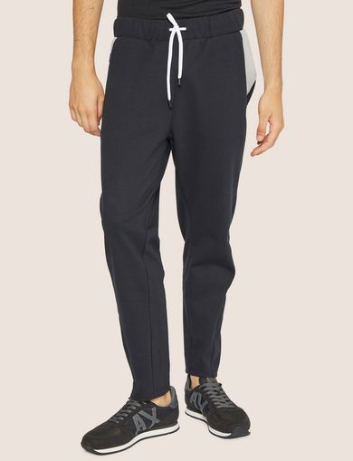 아르마니 익스체인지 Armani Exchange COLORBLOCKED SWEATPANT,Black