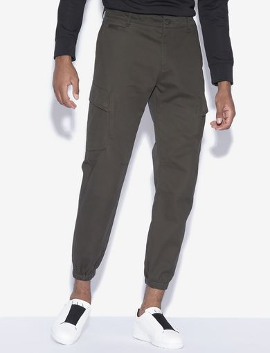 아르마니 익스체인지 Armani Exchange CARGO JOGGER PANT,Dark Green