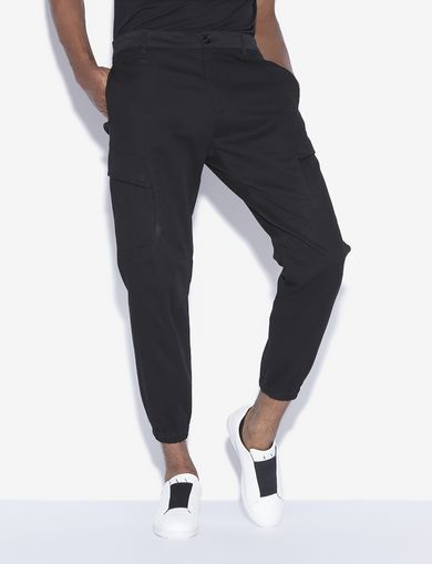 아르마니 익스체인지 Armani Exchange CARGO JOGGER PANT,Black