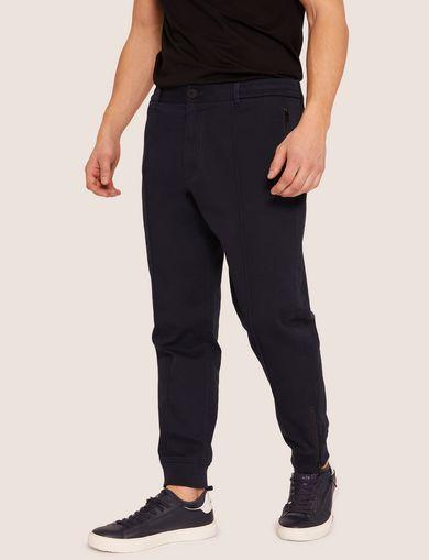 아르마니 익스체인지 Armani Exchange TONAL STRIPE JOGGER PANT,Navy Blue