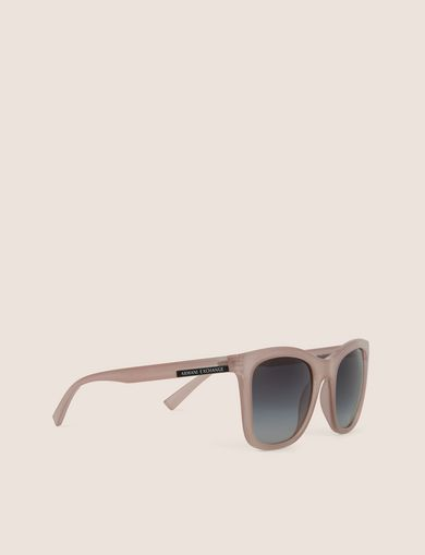 아르마니 익스체인지 Armani Exchange GREY GRADIENT LENS CLASSIC SUNGLASSES,Pink