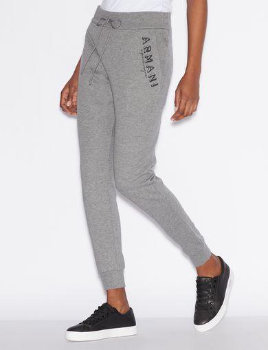 아르마니 익스체인지 플리스 팬츠 Armani Exchange Fleece Pants,Grey