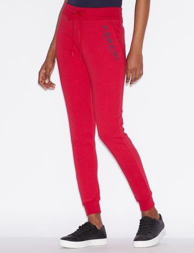 아르마니 익스체인지 플리스 팬츠 Armani Exchange Fleece Pants,Red
