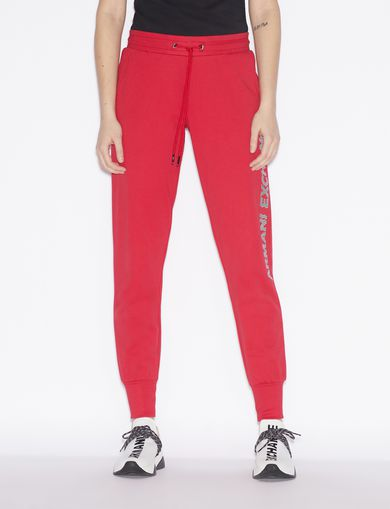 아르마니 익스체인지 Armani Exchange SPORTY TROUSERS,Red