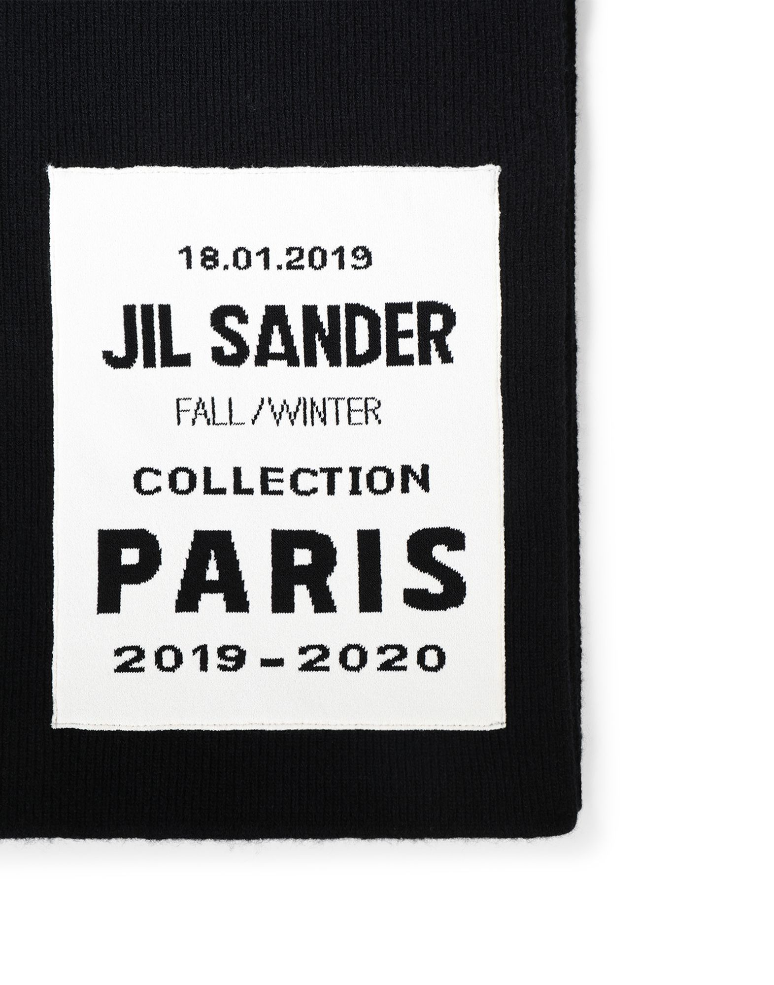 Schal - JIL SANDER Online Store