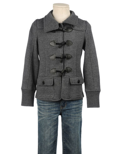 BURBERRY CHILDREN - Mid-length jacket