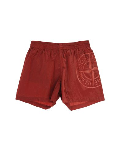 STONE ISLAND JUNIOR - Beach pants