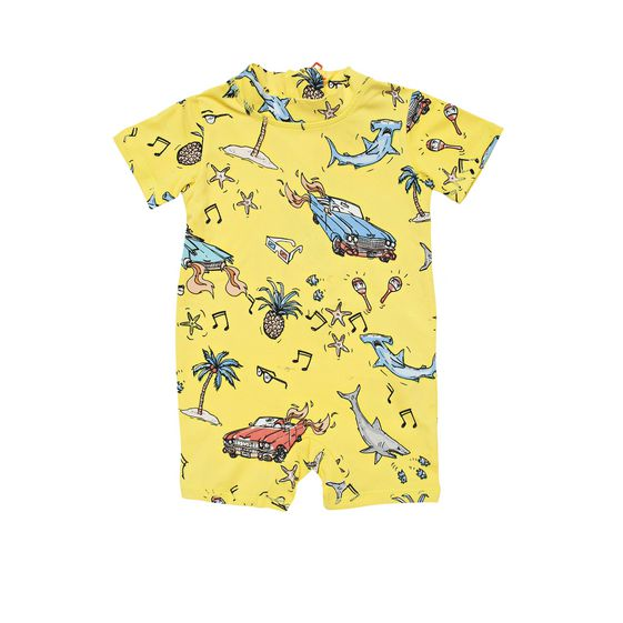 STELLA McCARTNEY KIDS, Swimsuits, TAYLOR BEACH PRINT SWIM ALL-IN-ONE