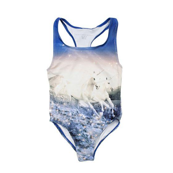 STELLA McCARTNEY KIDS, Swimsuits, MARCIE UNICORN SWIMWEAR