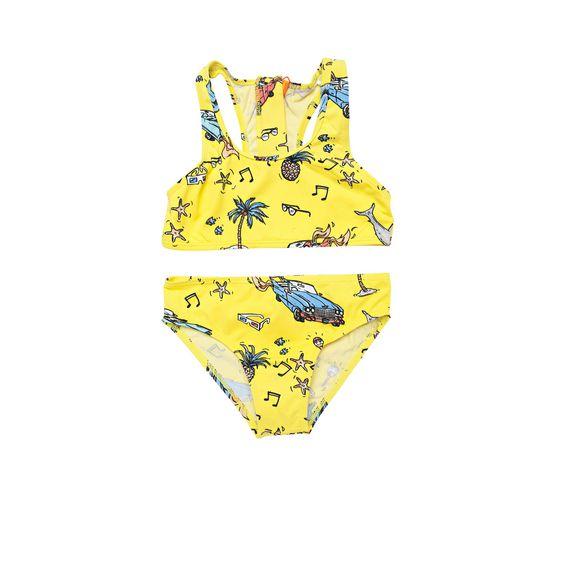 STELLA McCARTNEY KIDS, Bikinis, KOKO BEACH PRINT SWIMWEAR