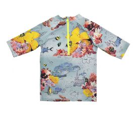 STELLA McCARTNEY KIDS, Swim Tshirt, SPLASH SEA PRINT SWIM T-SHIRT