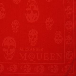 ALEXANDER MCQUEEN, Towels, Tonal Skull Towel