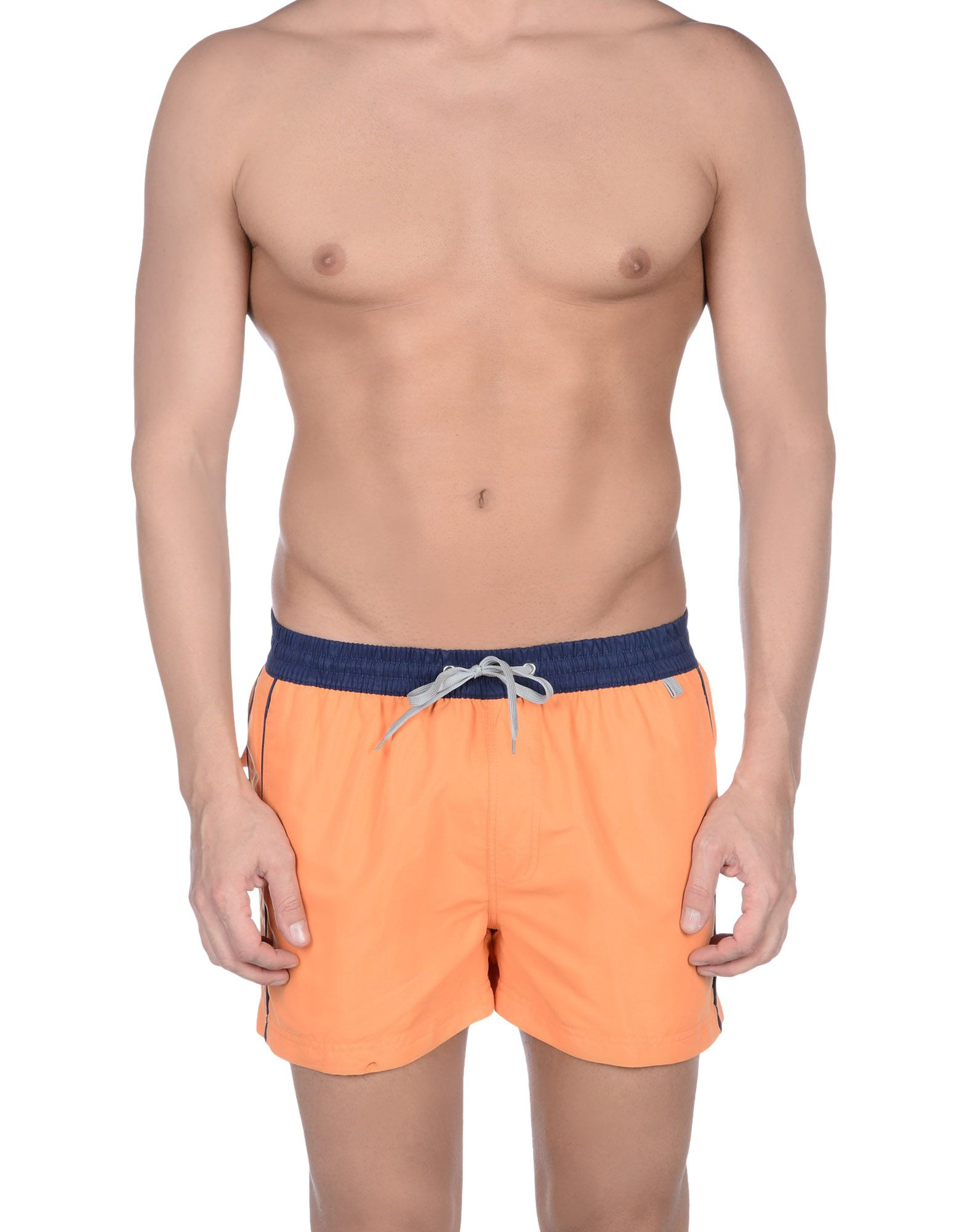 ELEMAR Herren Badeboxer Farbe Orange Größe 3