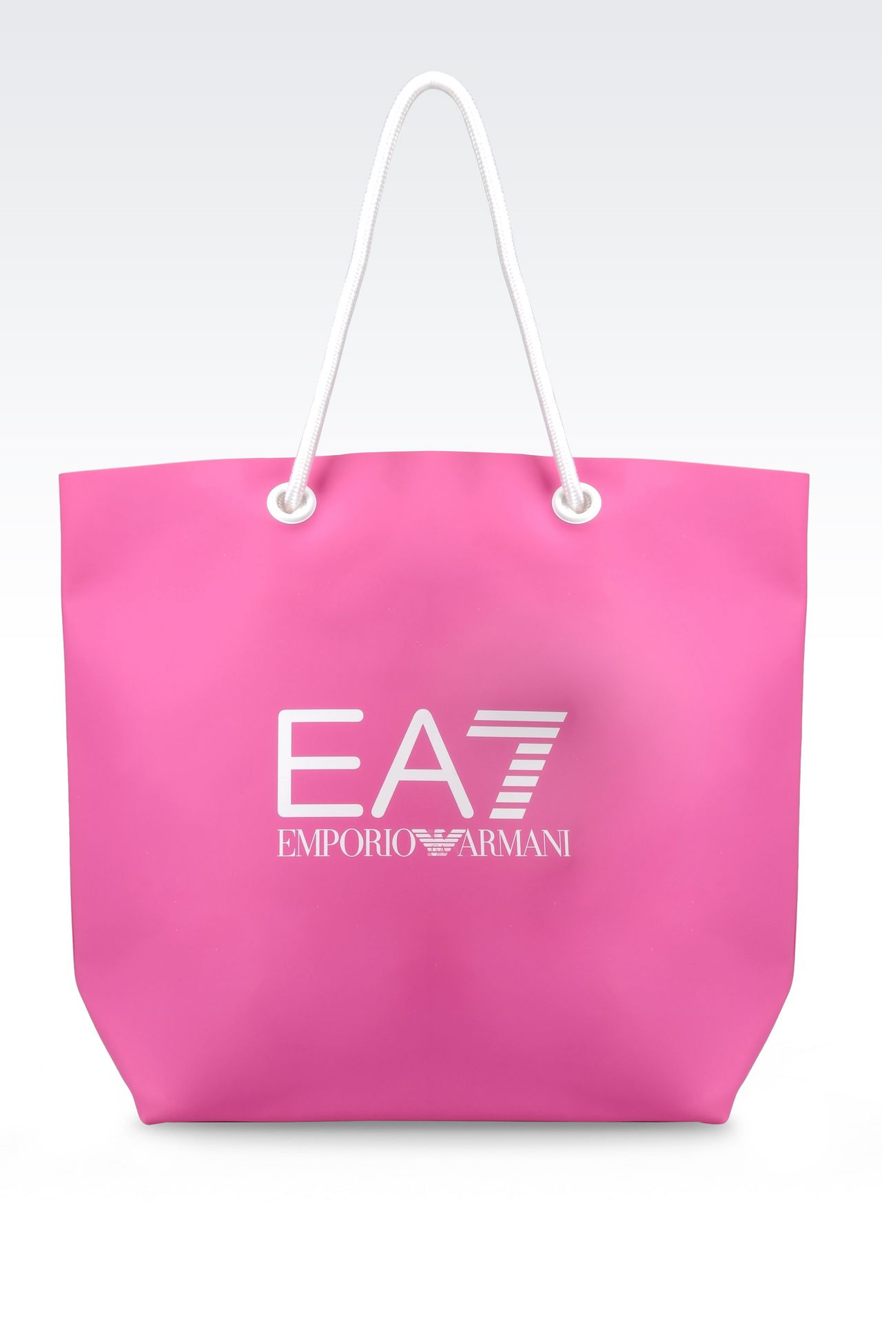 EA7 Women SEA WORLD LINE BEACH BAG, PVC - Armani.com