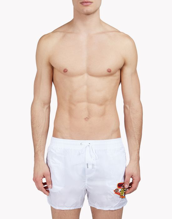 patch swim shorts moda baño Hombre Dsquared2