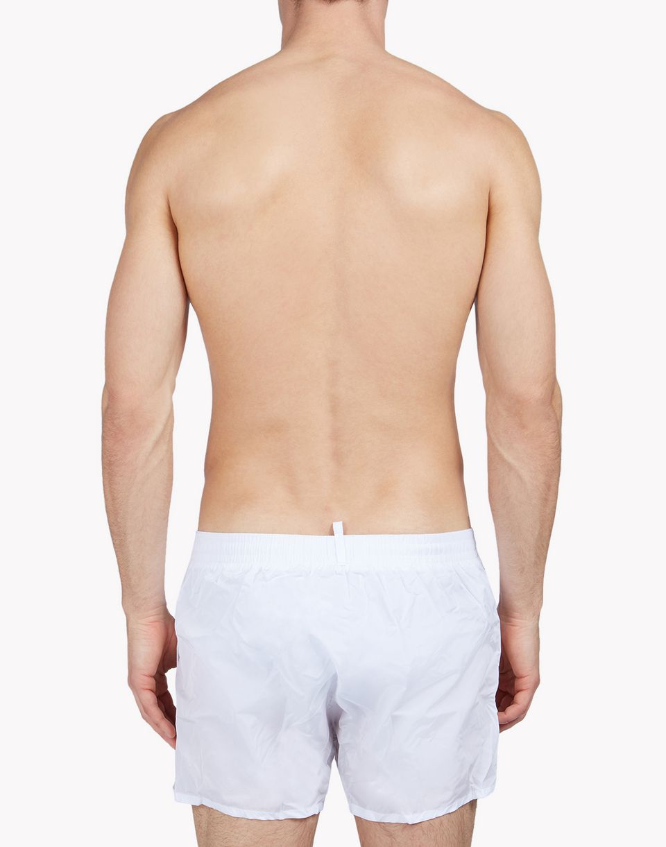 patch swim shorts beachwear Man Dsquared2