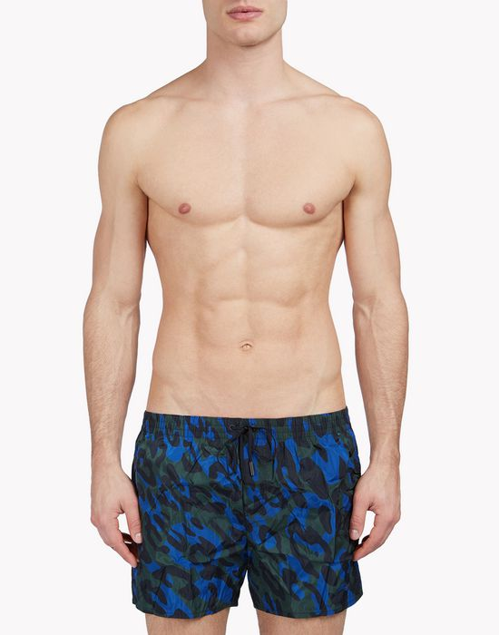 camouflage swim shorts beachwear Man Dsquared2