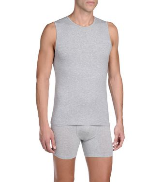 ERMENEGILDO ZEGNA: Tank Top Light grey - 48128044LN