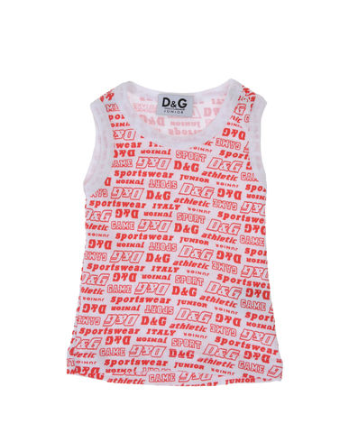 D&G JUNIOR - Tank top