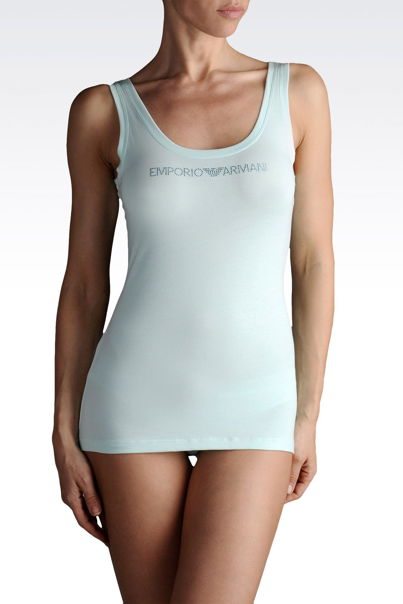 Underwear: Tank tops Women by Armani - 0