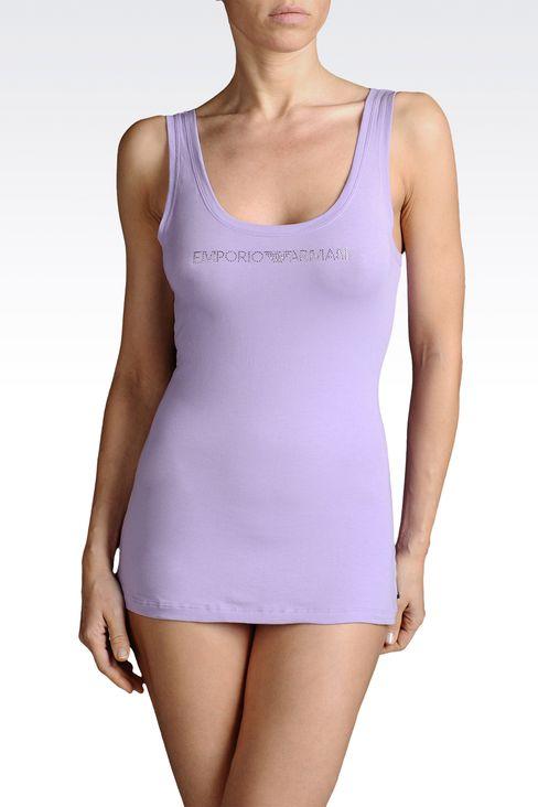 Underwear: Tank tops Women by Armani - 1