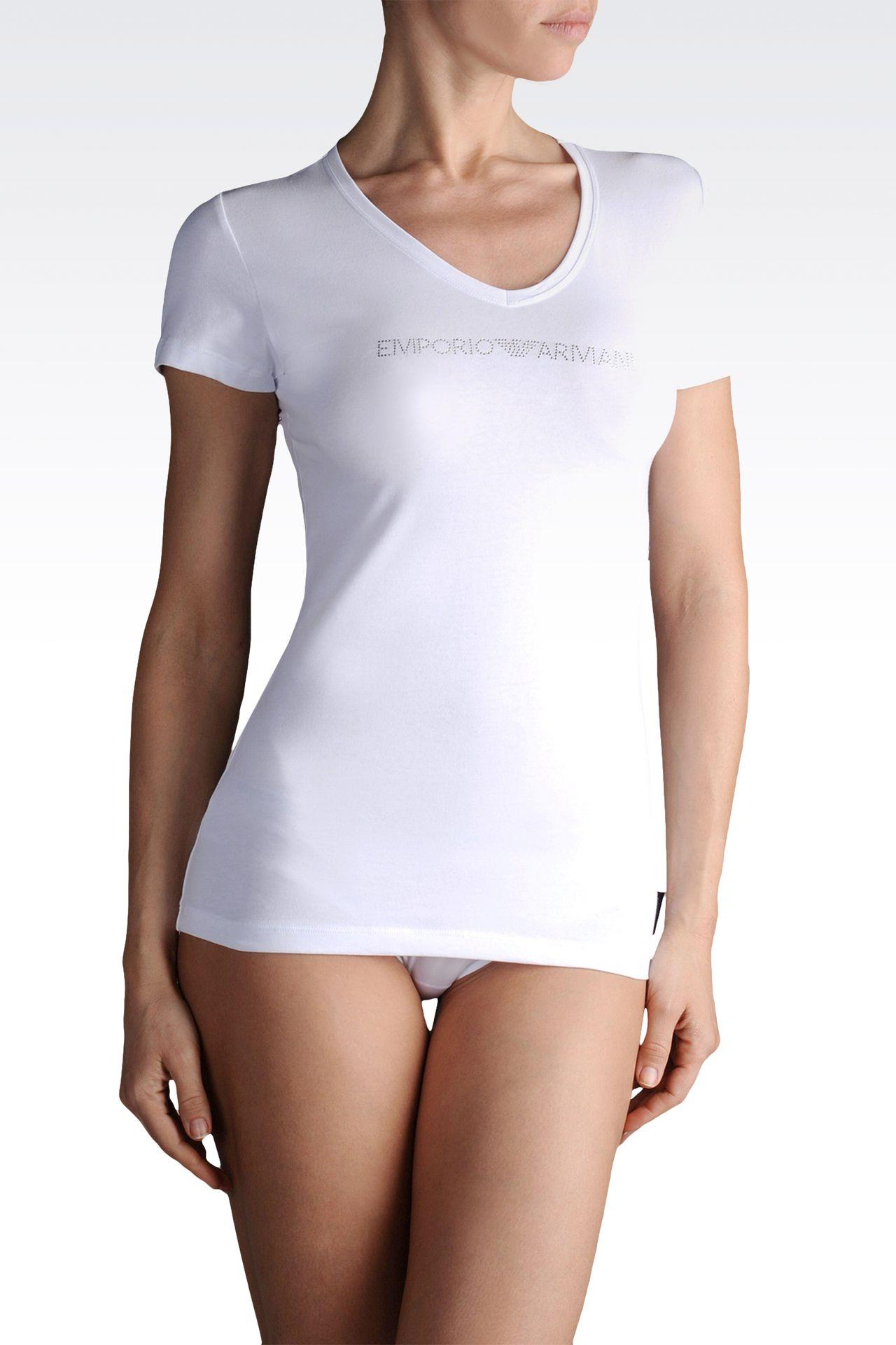 Underwear: Undershirts Women by Armani - 0