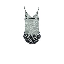 STELLA McCARTNEY, Bodysuit, Painted Spot Print Swimsuit