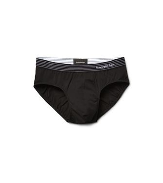 ERMENEGILDO ZEGNA: Brief Black - 48148930HV