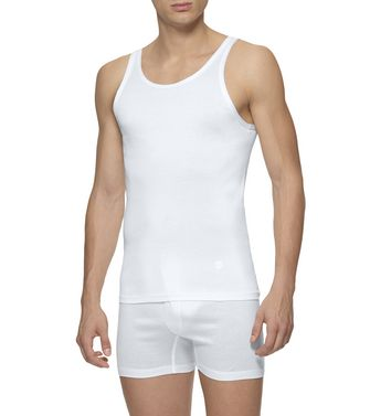 ERMENEGILDO ZEGNA: Tank Top White - 48148931NM