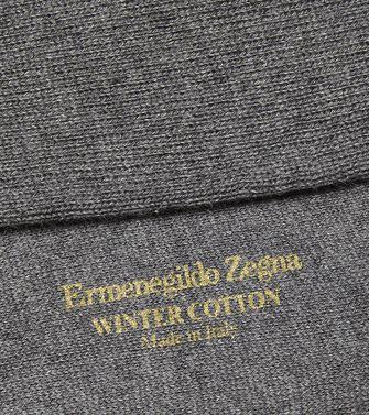 ERMENEGILDO ZEGNA: Socks Grey - 48149028HF