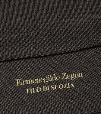 ERMENEGILDO ZEGNA: Socks Steel grey - 48152150AN