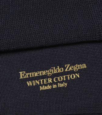 ERMENEGILDO ZEGNA: Chaussettes Bleu - 48152170LB