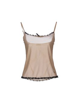 MOSCHINO LINGERIE Tank tops $ 43.00