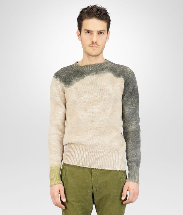 Mist Sergeantdip-Dye Wool Sweater