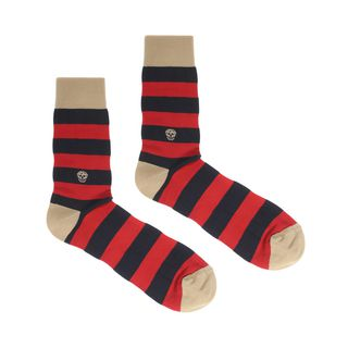 ALEXANDER MCQUEEN, Sock, Knitted Stripy Socks