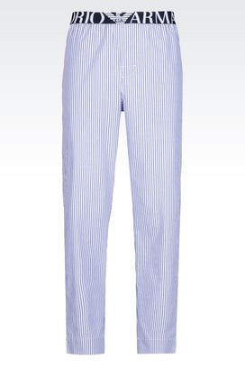 Armani Loungewear Pants Men cotton trousers