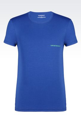 Armani Undershirts Men t-shirt in stretch cotton