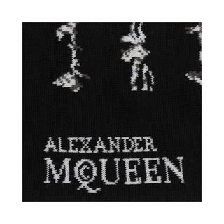 ALEXANDER MCQUEEN, Sock, Short String Stripe Socks