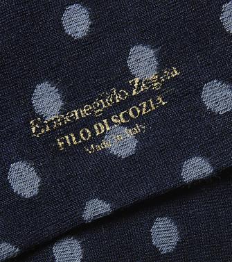 ERMENEGILDO ZEGNA: Socks Blue - 48168891WO