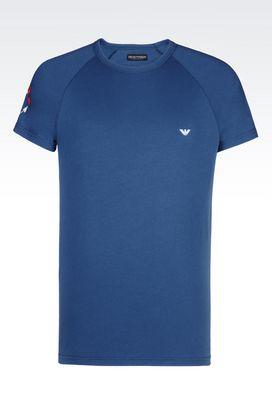 Armani Undershirts Men t-shirt in stretch cotton