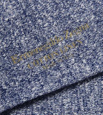 ERMENEGILDO ZEGNA: Calcetines Azul marino - 48170670UW