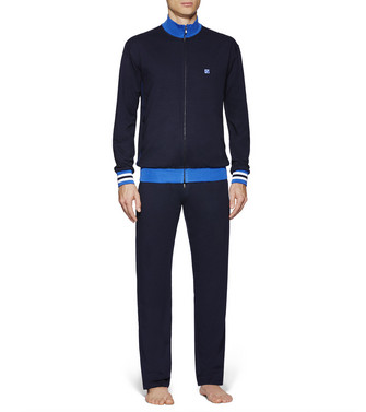 ERMENEGILDO ZEGNA: Sweatsuit Blue - 48170676NX
